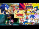 Sonic the Hedgehog ALL INTROS 1993 - 2017