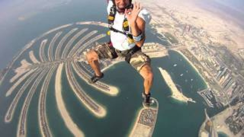 Skydive In Dubai Palm Video Upload By Ameen Kodiyathur