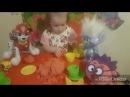 Кинетический песок ЩЕНЯЧИЙ ПАТРУЛЬ Смешарики Угощаем любимых героев Видео для детей про Куличики