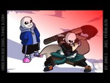 Sans VS Cross Chara ( Underverse AMV ) Fall out Boy - Light Em Up Rock Remix by Joseph Carranza