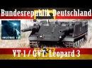 VT-1 / GVT (Леопард 3): танк без башни, но с двумя пушками