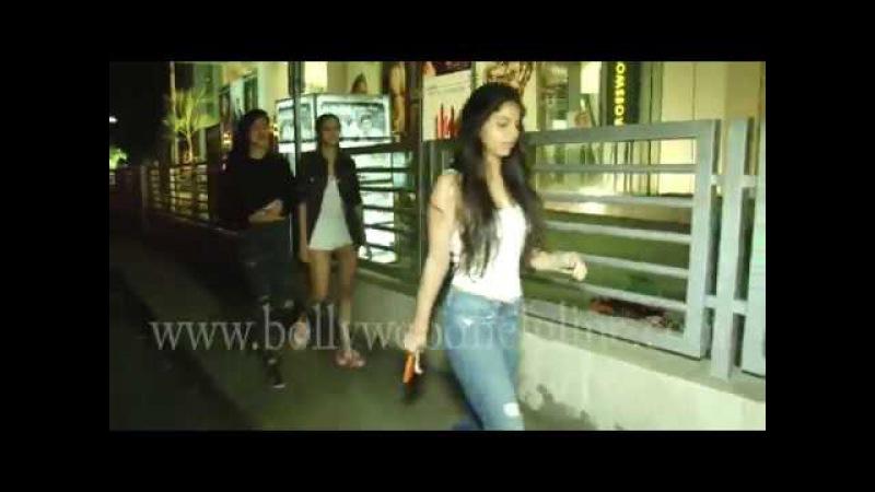 Suhana Khan Spotted At Juhu Pvr