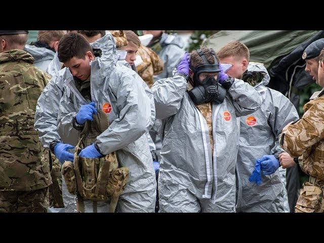 Nerve gas attack prompts public advisory
