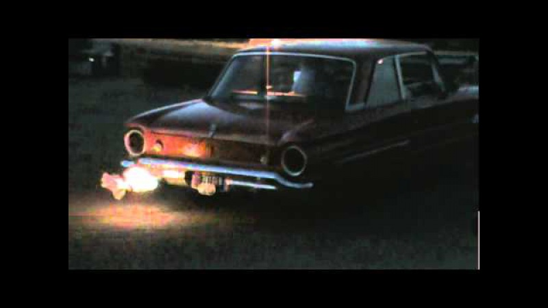 More 62 Falcon popcorn Popper Throwing flames 1962 Ford Falcon Flame thrower Inline 6