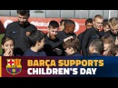 Barça and the FCB Foundation support global Unicef campaign