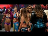WWE RAW 05-02-17 Alexa Bliss,Nia Jax, Alicia Fox &amp Emma vs Bayley, Sasha, Mickie James &amp Dana Brooke