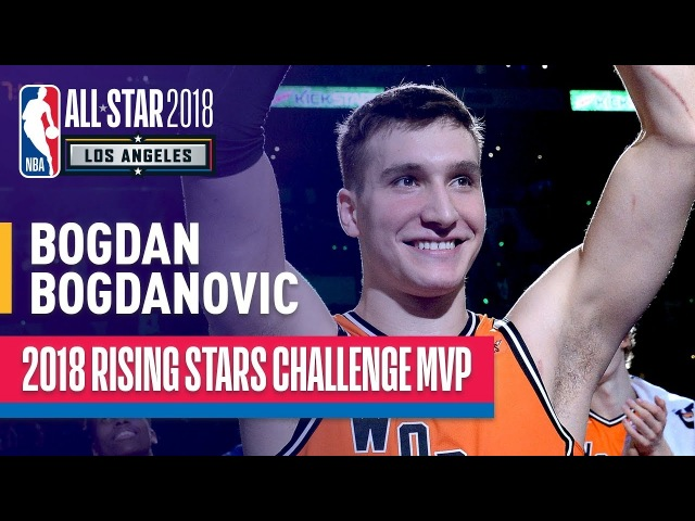 Bogdan Bogdanovic MVP Highlights from 2018 Rising Stars | Presented by Mtn Dew Kickstart