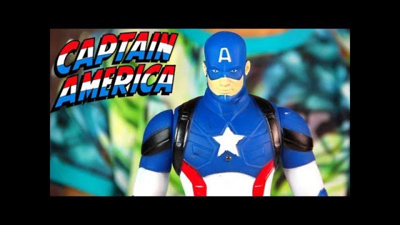 Фигурка КАПИТАН АМЕРИКА ПЕРВЫЙ МСТИТЕЛЬ от Marvel Captain America
