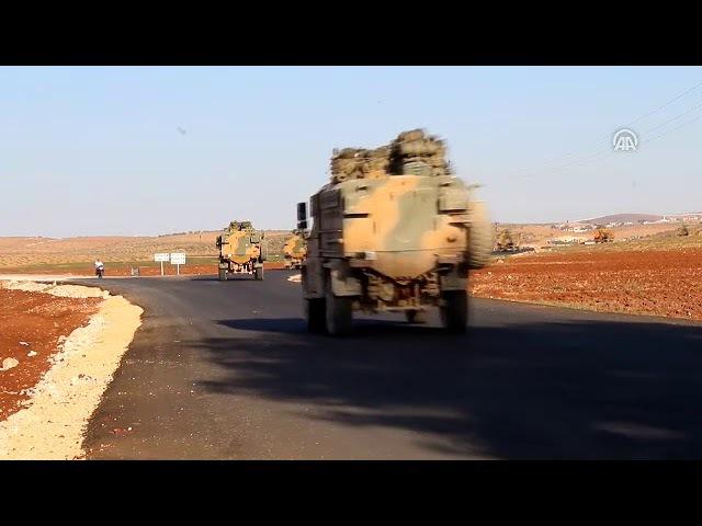 İdlibdeki çatışmasızlık bölgesine gerçekleştirilecek intikal kapsamında Hataya gönderilen askeri a