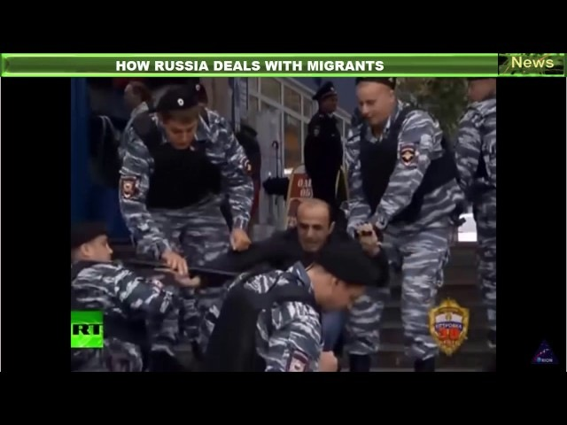 How Russia Deals With Migrants - You Don't Wanna Go There
