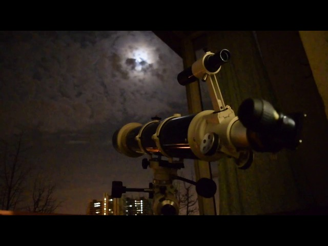 Планеты и звёзды в телескопе - Planets and stars in the telescope