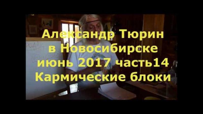 А.Тюрин в Новосибирске ч.14 Кармические Блоки