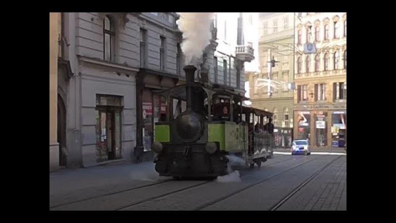 Parní tramvaj Caroline 24.6.2017