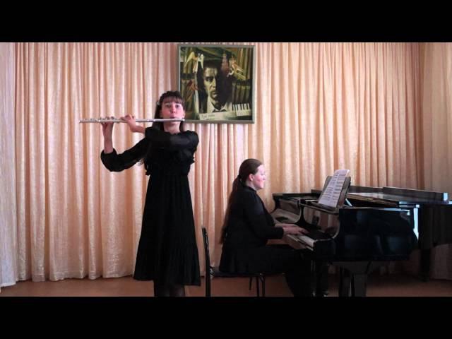 Ярыгина Александра. С. Шаминад. Концертино для флейты с оркестром ре-мажор. оп.107