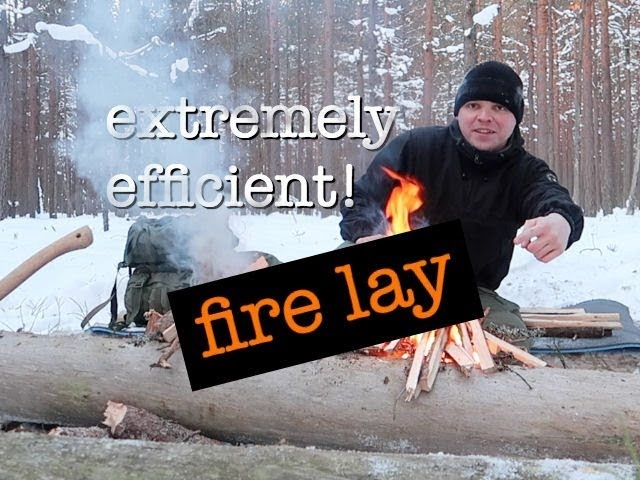 The Long Log Fire Extremely Efficient, Overnight at -18C (2018)