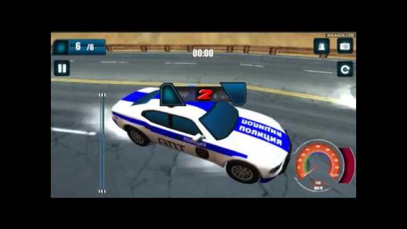 Дорожный патруль 3D видео геймплей / гонка на полицейской машине