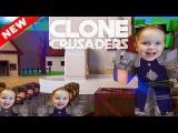 Каролина клонирует рыцарей в РОБЛОКС Выживание Clone Crusaders in ROBLOX от MGTV