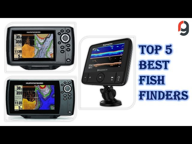 Top 5 Best Fish Finders for The Money