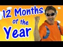 12 Months of the Year   Exercise Song for Kids   Learn the Months   Jack Hartmann