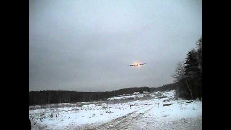 Il-96-300 RA96010 Aeroflot landing in SVO Moscow