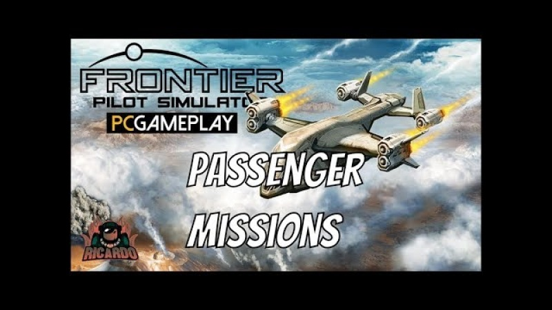 Frontier Pilot Simulator - Passenger Mission early access first look