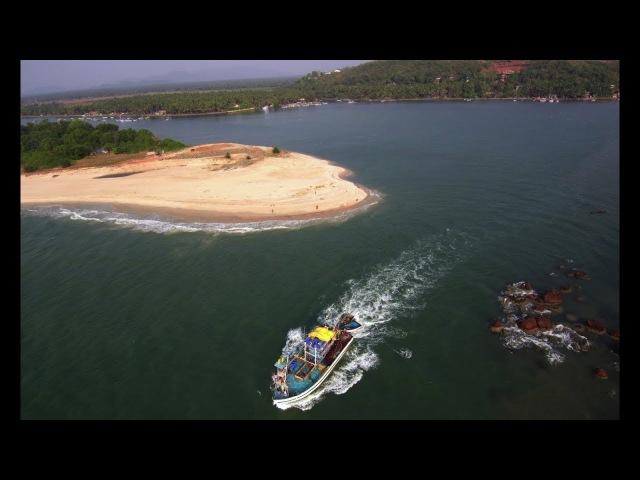Goa from drone 2018 4k. Гоа с высоты, видео с дрона 4к