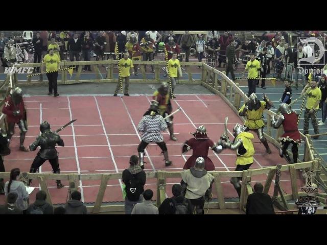 ДИНАМО 2016 (F) 6fight Партизан 1 vs Noble Nost
