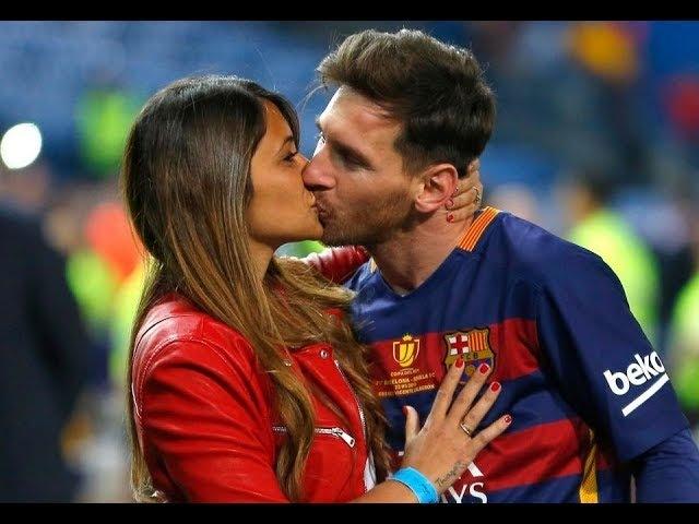 Антонелла Рокуццо супруга Леонеля Месси ФК Барселона