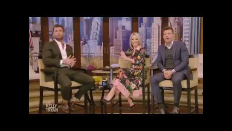 Chris Hemsworth Complete interview on Live with kelly and Ryan