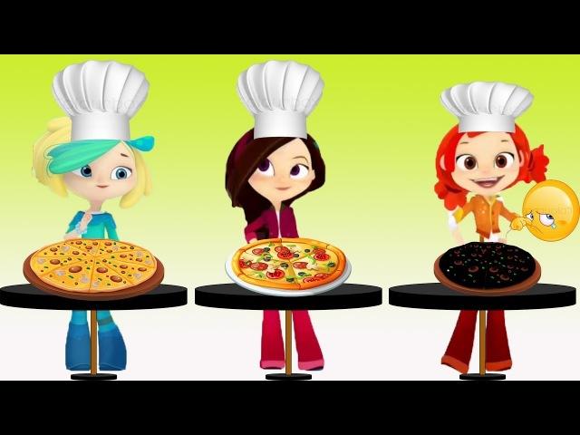 Сказочный патруль - Приготовления пиццы - Серия 11 - мультфильм о девочках волшебницах