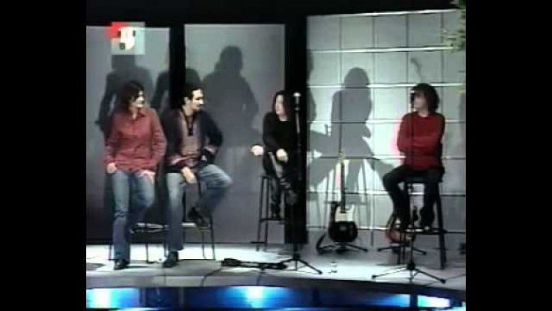 Агата Кристи. Интервью (''Кухня'' на ТВЦ 2003) (2)