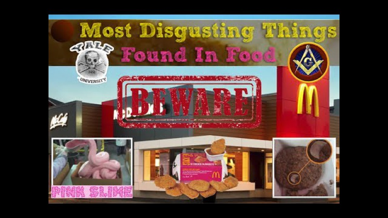 COG - Things Found In McDonald's Food (Toxins Morgellon Fibers)