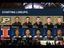 Purdue vs Illinois Basketball 2018 (Feb. 22)