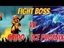 How to kill ice phoenix using hero shido stickman legends