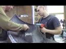 Горелка для пайки пластика Body repair after an accident