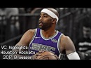 Vince Carter 6 pts, 2 ast 1 reb vs. Rockets (NBA RS 2017/2018) - Official Kings Debut!