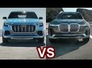 2019 Audi Q8 Vs 2019 BMW X7