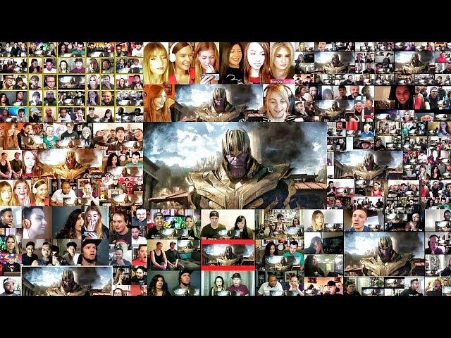 Marvel Studios' Avengers : Infinity War Official Trailer(2018) Mega Reactions Mashup | Avengers 3