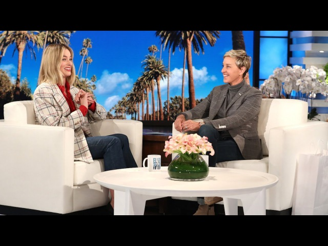 You Wont Believe Margot Robbies Honeymoon with Ellen, Short Shorts a President