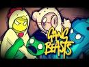 Gang Beasts прикольная инди игра Играем на пс 4 в Ганг бест онлайн