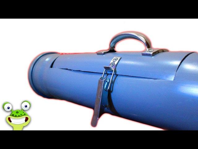 Крутая идея самоделки из ПВХ труб для гаража, мастерской! Сделай и себе этот простой инструмент! !