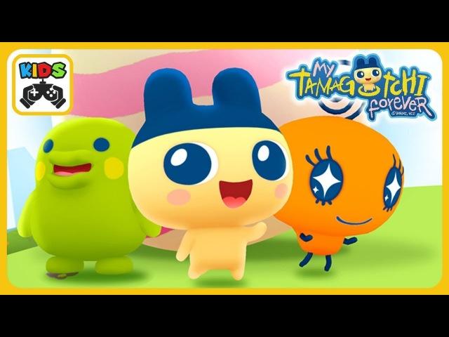 My Tamagotchi Forever * Тамагочи игра для детей от Bandai Namco * Играй ухаживай и дружи