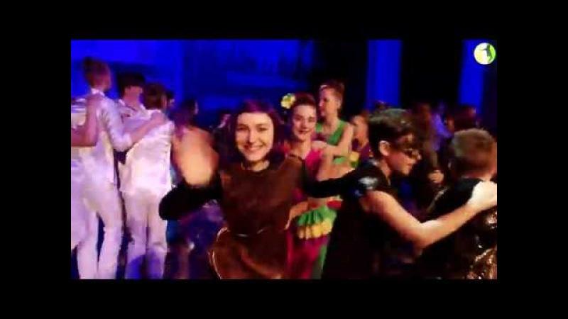 Паравозик с Сашей Аскерко на конкурсе Я танцую 25 февраля 2018