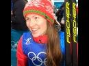 Дарья Домрачева после победы в эстафете ОИ 2018