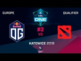 OG vs Team World RU #2 (bo3) ESL One Katowice 2018 Major EU Qual 10.01.2018