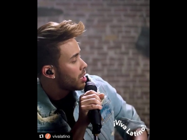 """Prince Royce on Instagram: """"CHECK IT OUT!! Repost @vivalatino ・・・ Time for a little jam session with @princeroyce ElClavo 🎤🎧 🎶. Watch the full pe..."""