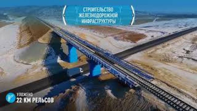 Ход строительства Амурского ГПЗ в феврале 2018 года