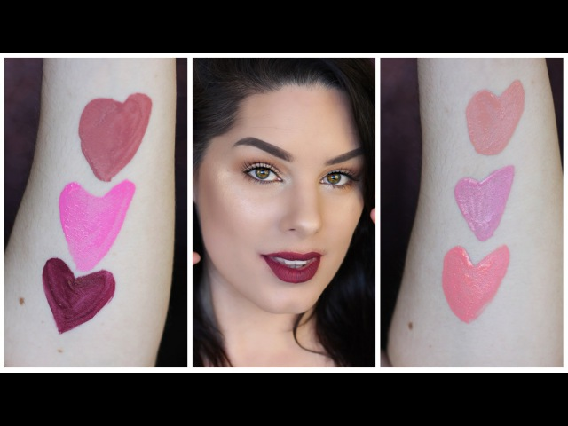 Bronx Colors Matte Lip Tint Swatch/Review and Dupe Matches