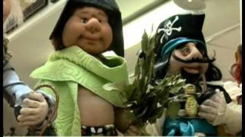 Челябинские мастерицы создают кукол из колготок