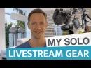 My Livestream Gear Solo Setup